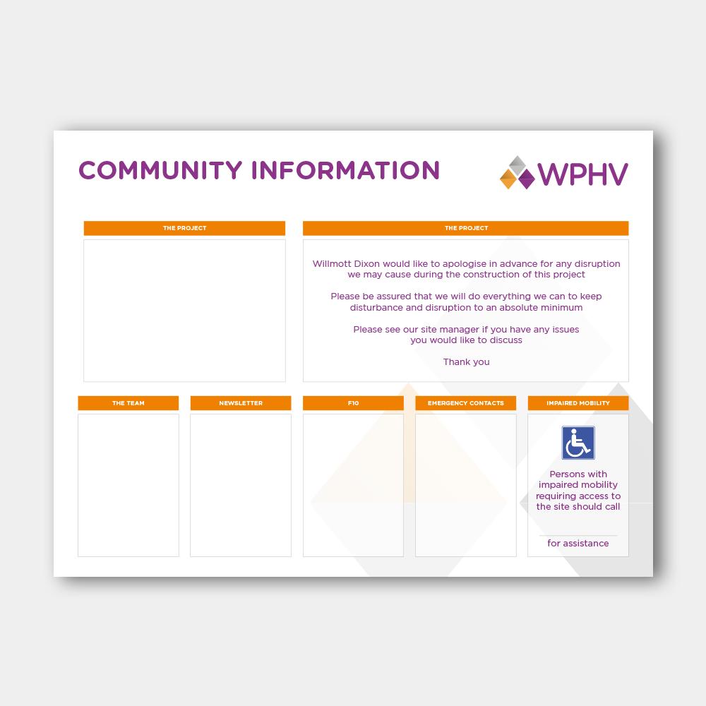 Community Information Board